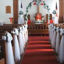 Church Wedding Ceremony Decorations