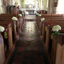 Church Wedding Flowers By Taras Florist