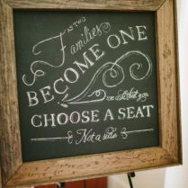 Classic Events By Kris Chalkboard Sign Tutorial