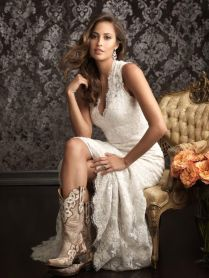 Country Wedding Dresses With Glamorous Wedding Dresses With