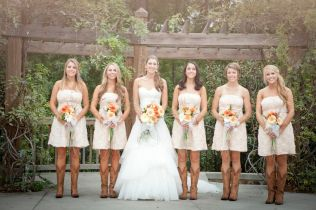 Cowboy Boots And Wedding Mesmerizing Wedding Dresses With Cowgirl