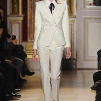 Custom Fashion Ivory Women Tuxedos Suits For Women Peaked Lapel