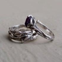 Dawn Vertrees Raw Uncut Rough Engagement Wedding Rings Raw Uncut