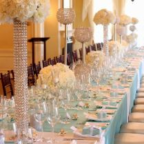 Decorated Tables For Wedding Receptions On Decorations With