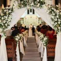 Decorating A Church For Wedding On Decorations With Church