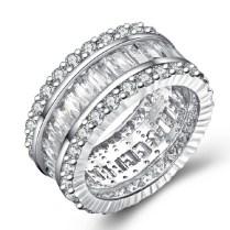 Diamond Wedding Rings Thick Band