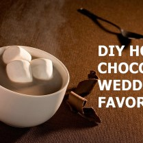 Diy Hot Chocolate Wedding Favors