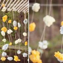 Diy Yellow & Gray Texas Wedding