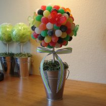 Edible Gum Drop Candy Bouquet Gumdrop By Charmioscraftparty