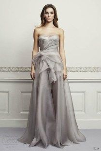 Excellent Gray Wedding Dress At Collection Gallery