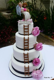 Firefighter Wedding Cake