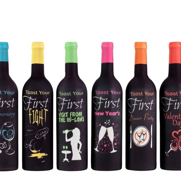 First Year Of Marriage Milestones, Wine Bottle Covers – Bridal