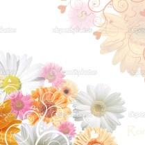 Floral Wedding Background — Stock Photo © Belodarova 2040296