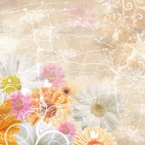 Floral Wedding Background — Stock Photo © Belodarova 2040374
