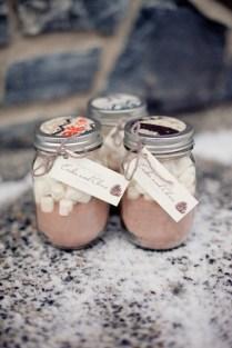 Gallery Handmade Hot Cocoa Wedding Favors
