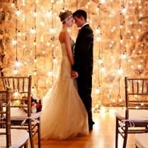 Gallery Indoor Edison Bulb Rustic Wedding Backdrop Decor