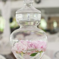 Glass Wedding Decorations Entrancing Glass Wedding Centerpieces