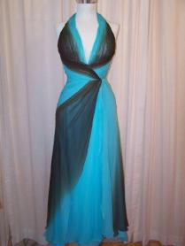 Go Back Gallery For Turquoise And Brown Wedding Dress