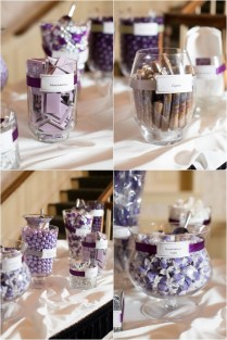 Gray And Purple Wedding Ideas