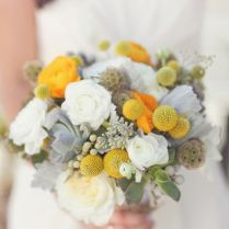 Gray Yellow, Bouquets And Yellow On Emasscraft Org