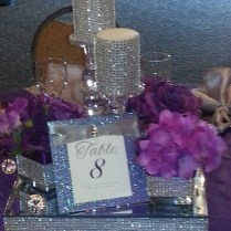 Great Bling Table Decor By Event Designs By Cherice In Dallas, Tx
