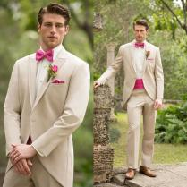 High Quality Mens Beige Suits