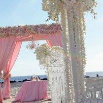 Hotel Del Coronado Beach Wedding Lavish In Pink