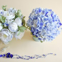 Hydrangea And Peonies, Simple But Stylish!