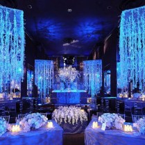 Ice Blue Wedding Decorations On Decorations With Hot Winter