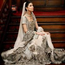 Indian Inspired Bridal Gowns Indian Wedding Dresses