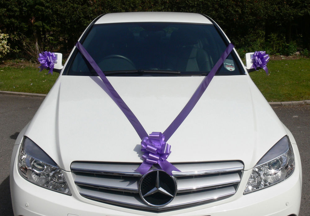 How To Decorate A Car For Wedding
