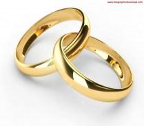 Interlocking Wedding Bands Clipart