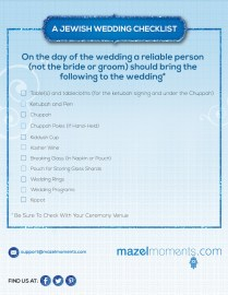 Jewish Wedding Rituals, Traditions & Customs