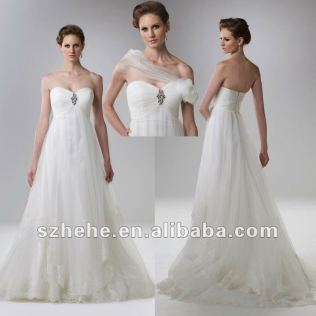 Lace Wedding Dresses For Pregnant Women