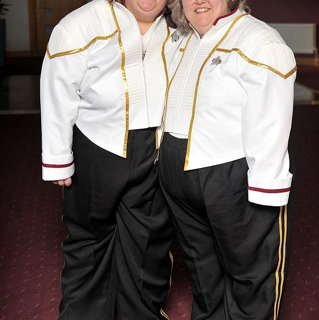 Lesbian Couple Celebrate Civil Ceremony With Star Trek