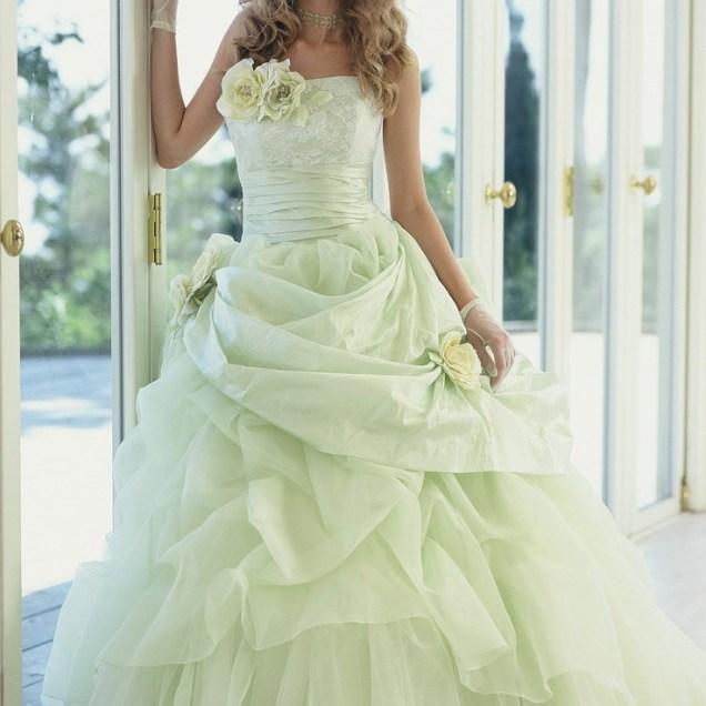 Lime Green Weddings, Green Wedding Dresses And Green Weddings On