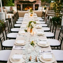 Long Table Ideas For Your Wedding Reception