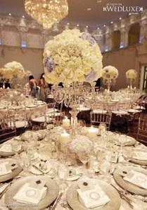 Luxury Silver Candelabra Wedding Centerpiece Archives