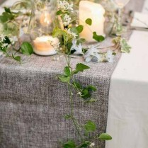 Making Table Runners For Wedding