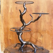 Metal Wedding Cake Stands