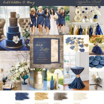 Navy Blue And Gold Wedding Ideas And Inspiration Â« Wedding
