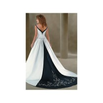 Navy Blue And White Wedding Dresses Browse Pictures And High