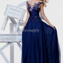 Navy Blue Wedding Dresses With Sleeves Naf Dresses