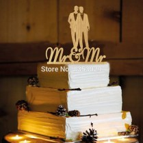 Online Get Cheap Gay Wedding Cake Toppers