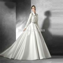 Online Get Cheap Shirt Dress Wedding Gown