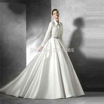 Online Get Cheap Shirt Dress Wedding Gown