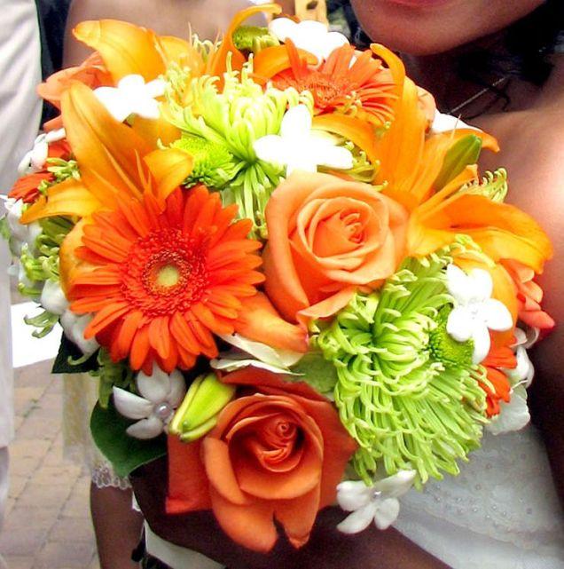 Orange, Bouquets And Orange Weddings On Emasscraft Org
