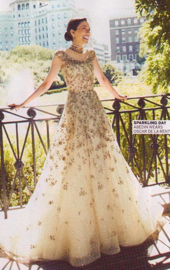 Indian Inspired Wedding Dress