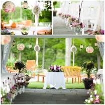 Outdoor Wedding Centerpiece Ideas