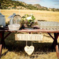 Outdoor Western Themed Wedding